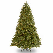 National Tree Company And039feel Realand039 Pre-lit Artificial Christmas Tree   Include...