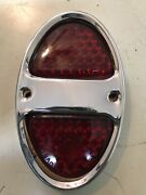 Nos K-d Lamp Co 221-d 1931-32 Chevrolet Tail Lamp Rim With Gasket