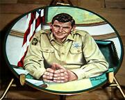Sheriff Andy Taylor From The Andy Griffith Show Plate Collection Coa