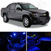 Blue Car Led Lights Interior Package Kit For 2007-2014 Chevy Avalanche Bulb