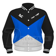 New Varsity College Baseball Letterman Jackets Personalized Fully Custom Printed