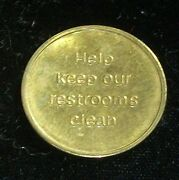 Indianapolis Indiana In Nik-o-lock Pay Toilet Token Coin Clean Restroom Exonumia
