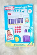 New Rare Playskool Savings And Sounds Bank With Atm Toy With Coin Sorter