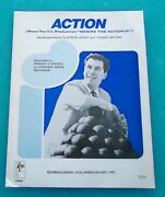 Where The Action Is 1965 Dick Clark Tv Show Freddy Cannon Sheet Music