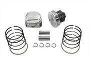 Forged .010 101 Compression Piston Kit Fits Harley-davidsonby Wiseco