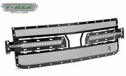 Trex Grilles 6712061 Large Mesh Steel Black Finish Xmetal Grille Insert For Gmc