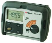 Megger Det4tc2 4-terminal Ground Resistance Tester Kit With Cable Reels Spikes