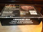 Sunbeam Smoker Box New Fits On Briquette Rack Of Gas And Charcoal Grills Cs101