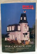 Piko 2000 G Scale Catalog, English, 54 Pages, Model Buildings, New Book / Offer