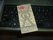 1888 Base Ball Schedule Booklet Cap Anson On Cover 2 1/2 By 5 1/2
