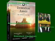 Downton Abbey Complete Series Plus Movie Dvd 22-disc Box Set Us Players New