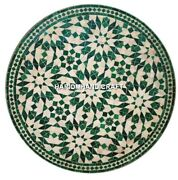 Malachite Stone Marble Inlay Top Center Table And Free Jewelry Ring Box Decorative