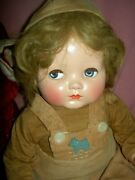 Effanbee Compo. Flirty Eyes Sweetie Pie Baby Bright Eyes Doll Orig Outfit 18