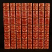 1851-54 8vol The Collected Writings Of Douglas Jerrold Morrell Binding