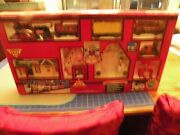 North Pole Express Christmas Animated Musical Train Set In Box Gingerbread Elf