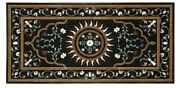48 X 24 Marble Center Coffee Dining Table Top Inlay Marquetry Work