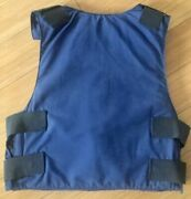 Light And Portable Police Body Armor Made Size Med Short Soft Lii L2 Level 2 Blue