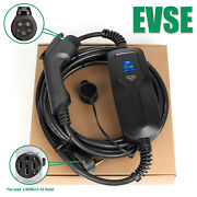 Electric Vehicle Charger Ev Car Charging Cable Cord 240v 32a J1772 14-50 Level 2
