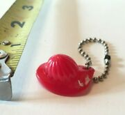 Vintage Cracker Jack Gumball Prize Charm Toy Red Fireman Fire Hat Premium