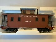 Bachmann 93802 Pennsylvania Caboose W/metal Wheels And Interior Free Shipping New