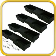 4 Storage Underseat Boxes 1999-2006 Fits Chevy/gmc Silverado/sierra Extended Cab
