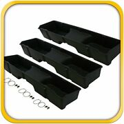 3 Storage Underseat Boxes 1999-2006 Fits Chevy/gmc Silverado/sierra Extended Cab