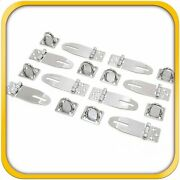 8 Door Clasp Padlock Hasps Latch 304 Steel Stainless For Sheds Gates And More 3