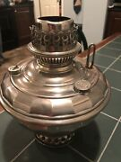 Antique Bandh Brass Victorian Lamp Without Shade Values 750