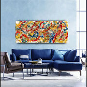 Jackson Pollack Style Artwork - Abstract Expressionism Original Art By Nandita