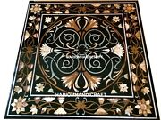 36 Scagliola Design Dining Marble Table Top Inlay Restaurant Fine Rare Art M169