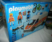 2013 Playmobil 5541 Ambulance With Siren New Sealed Rare Quick Shipper