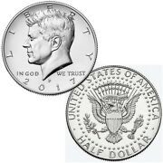 2017 P President Kennedy Half Dollar Fifty Cent Coins Money Coin Collectibles