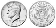2017 D President Kennedy Half Dollar Fifty Cent Coins Money Coin Collectibles