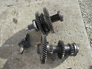 Massey Ferguson To35 Tractor Complete Set Transmission Gears W/ Shafts Top Bot R