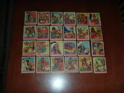 1933 R73 Goudey Indian Gum Series 312 Complete Run Of 24 Cards With Custer