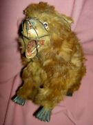 Rare Antique French Roullet Et Decamps Automaton Bear Moving Head Mouth Feet