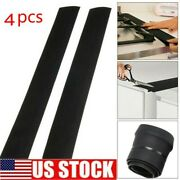 1/4pc Silicone Kitchen Stove Counter Gap Cover Oven Guard Spill Seal Slit Filler