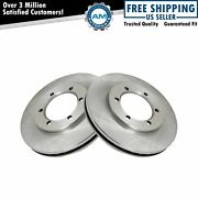 Disc Brake Rotors Front Pair Set Of 2 For 98-04 Nissan Frontier