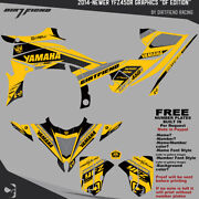 Yfz450r Graphics 2014-newer Dfr Df Edition Yellow Sides Fenders