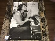 Johnny Depp Rare Autographed Hand Signed Full Size Poster Actor Musician Bas Coa