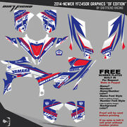 Yfz450r Graphics 2014-newer Dfr Df Edition Red White Blue Full Wrap Yfz 450r