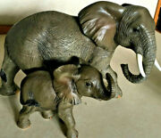 Home Interiors-african Family Figurines- New In Box