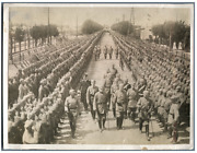 Germany Kaiser On The Eastern Front Inspecting Troops Vintage . Wwi Tirag