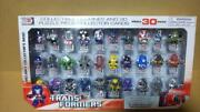 Transformers 3d Puzzle Piece Collector Cards Mega 30 Pack Complete Box Very Rare