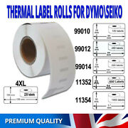 Address Labels For Dymo 99010/12/14 11352/54 4xl Labelwriter Printer Compatible