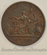 1833 Hard Times Token Robinsons Jones And Co. Best Military Naval Buttons Ht152