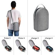 Eva Hard Travel Bag For Jbl Pulse 3/pulse 4/charge 3/charge 4 Bluetooth Speakers
