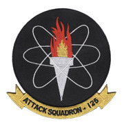 4.5 Navy Va-125 Attack Squadron Embroidered Patch