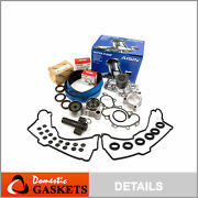 Timing Belt Kit Water Pump W/o Pipe Valve Cover Gasket For Toyota 5vzfe 3.4l