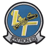 4.5 Navy Vp-62 Patrol Squadron Patron 62 Embroidered Patch